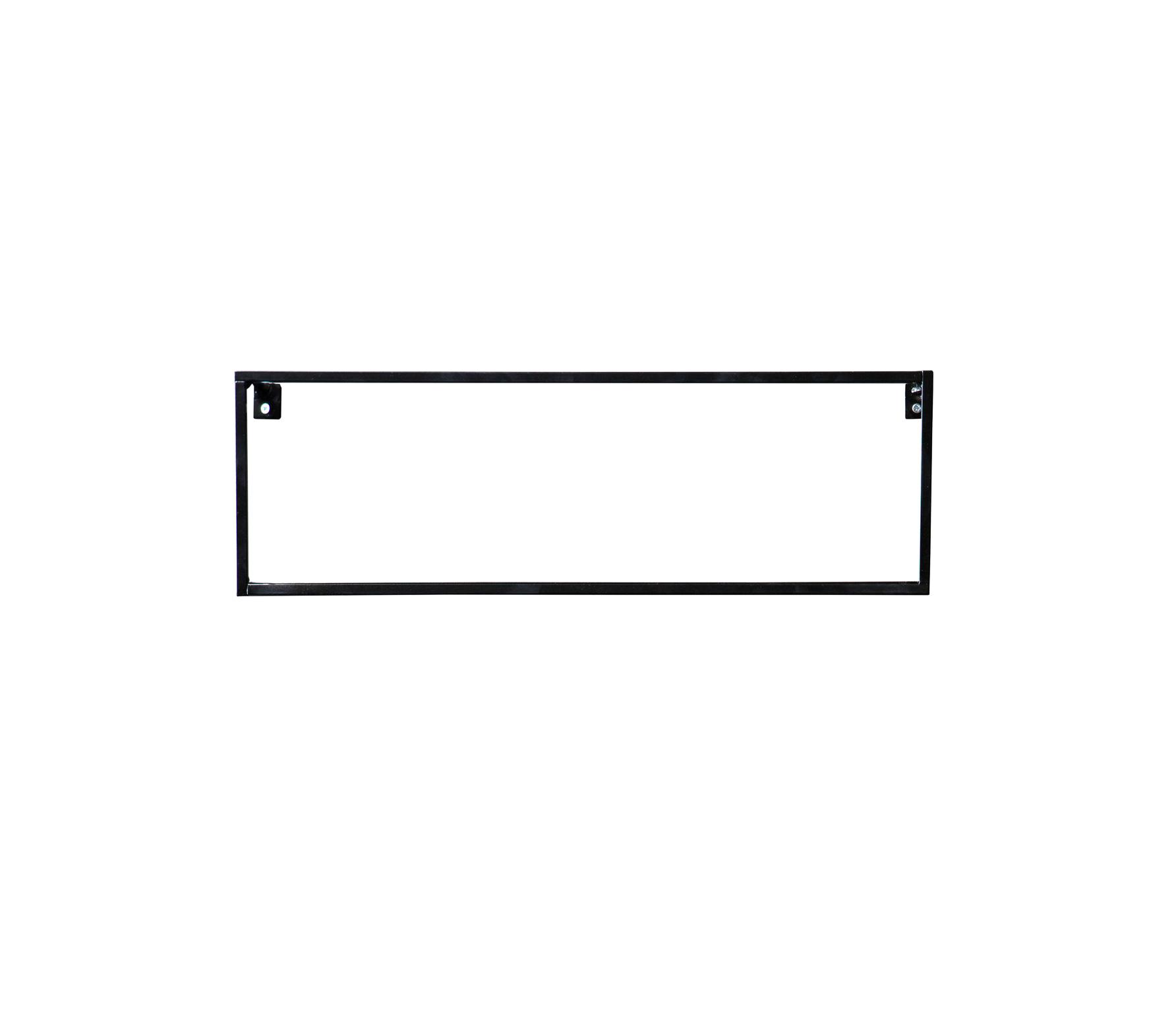 Wandplank Zwart Metaal.Woood Meert Wandplank 50 Cm Metaal Wordt Gratis Thuisbezorgd Met 60