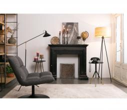 Afbeelding van product: Dutchbone Bar loungefauteuil polyester donkergrijs