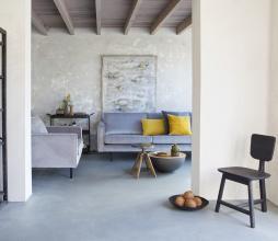 Afbeelding van product: BePureHome Rodeo 1,5-zits fauteuil velvet lichtgrijs