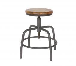 Afbeelding van product: vtwonen Spider kruk vintage hout grijs