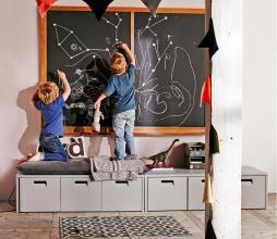 Afbeelding van product: vtwonen Store junior opbergbank grenen grijs