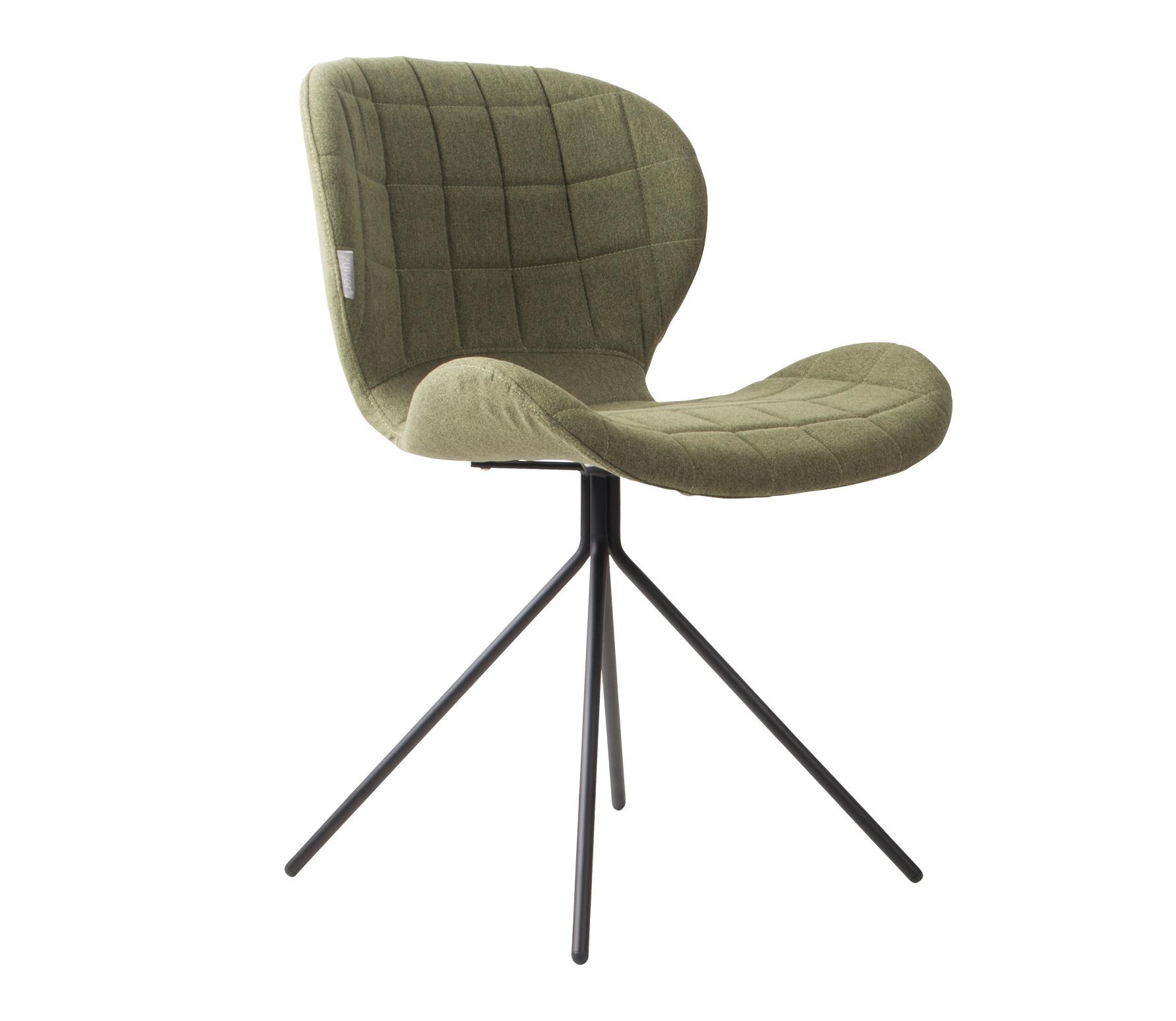 Zuiver OMG stoel velvet groen