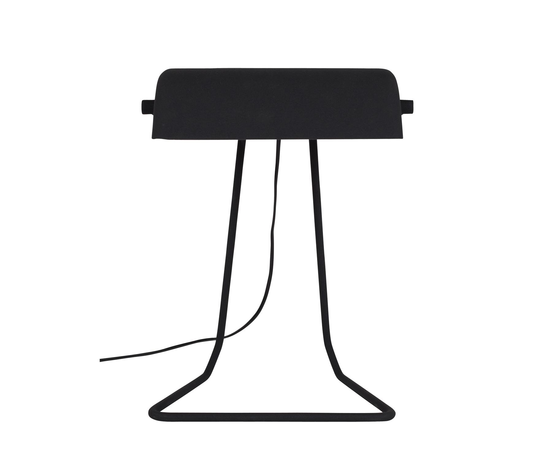 Zuiver Broker bureaulamp metaal zwart