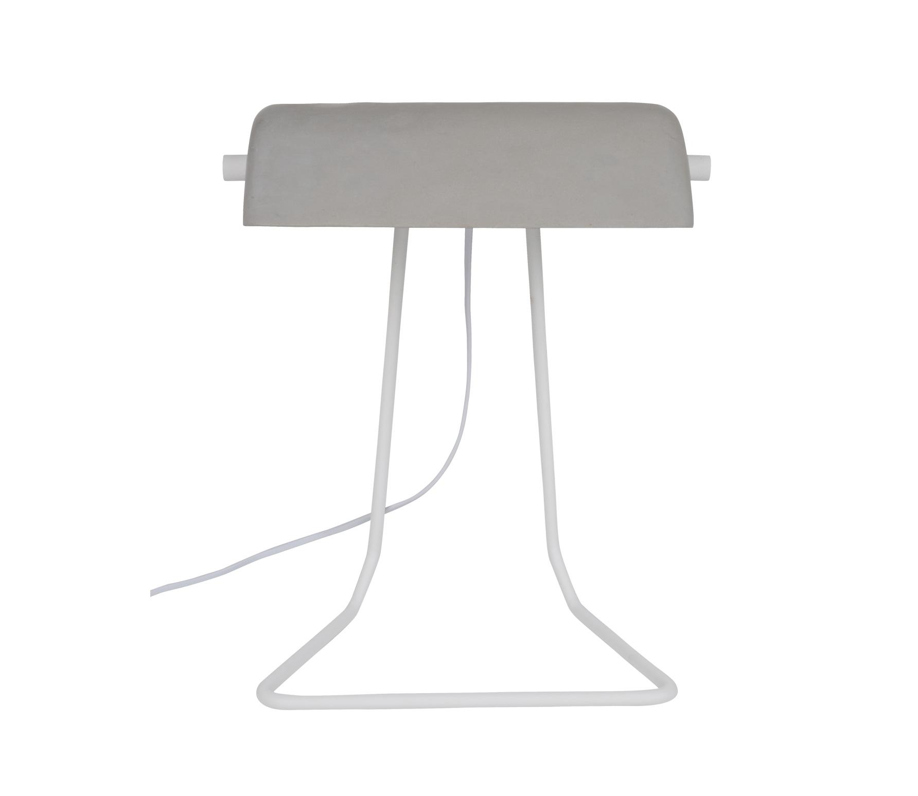 Zuiver Broker bureau/tafellamp concrete