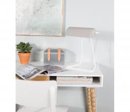 Afbeelding van product: Zuiver Broker bureaulamp metaal/beton wit/grijs