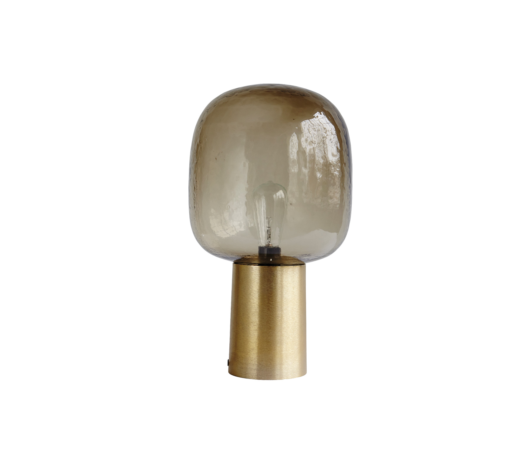 Housedoctor Note tafellamp aluminium brass