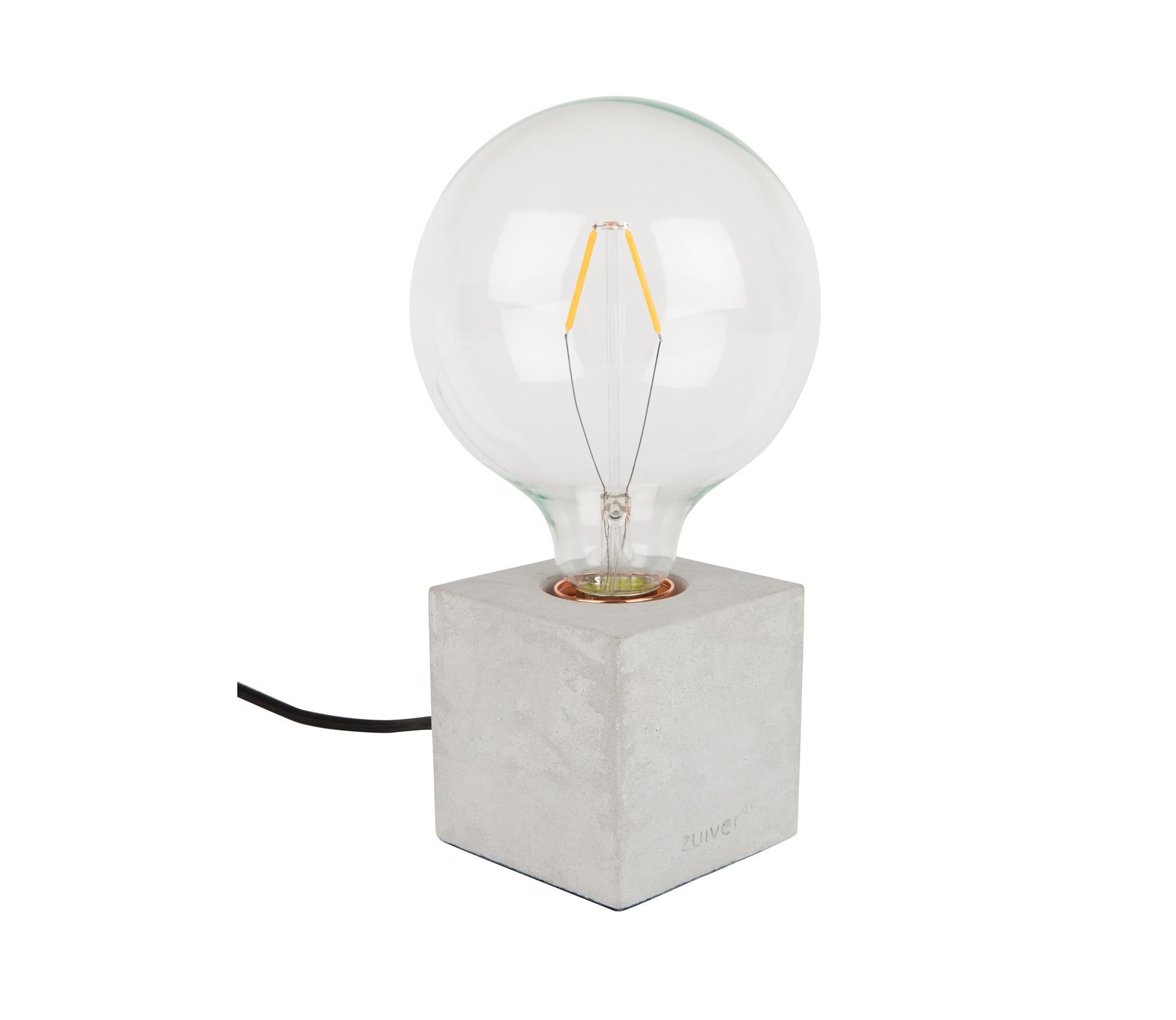 Zuiver Bolch tafellamp concrete Grijs