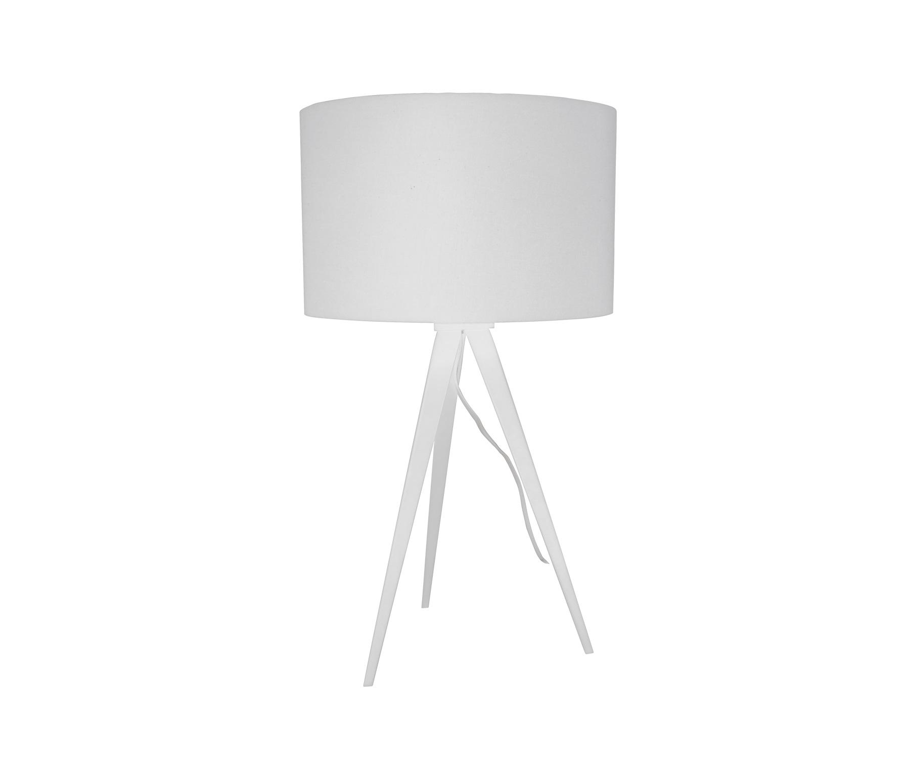 Zuiver Tripod tafellamp kunststof/metaal wit