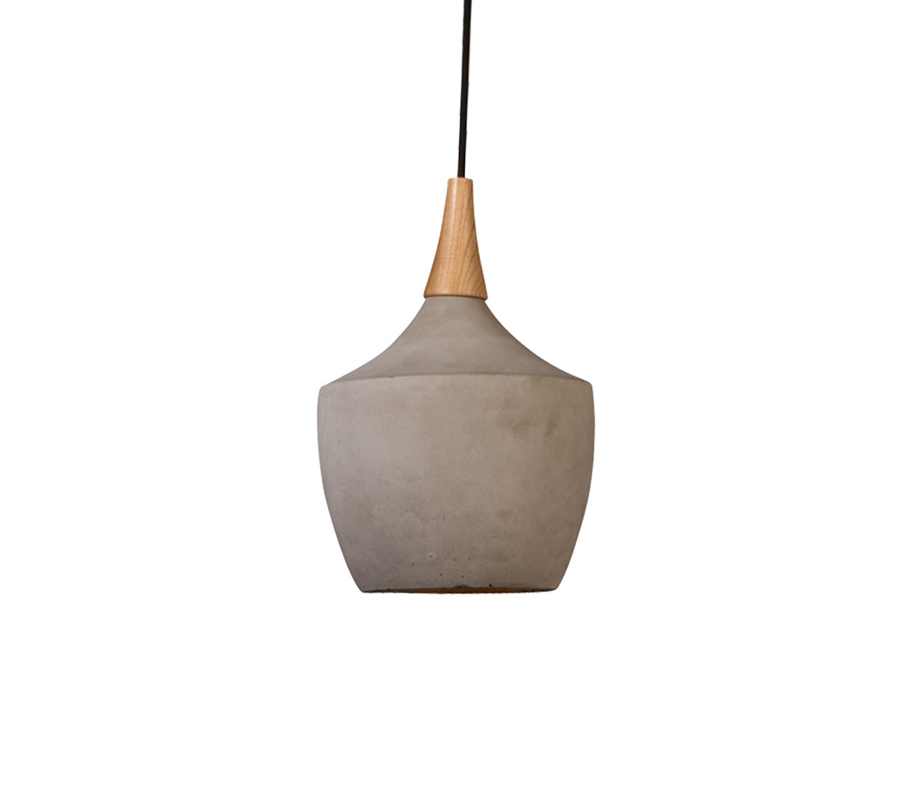 Dutchbone Cradle carafe hanglamp beton grijs