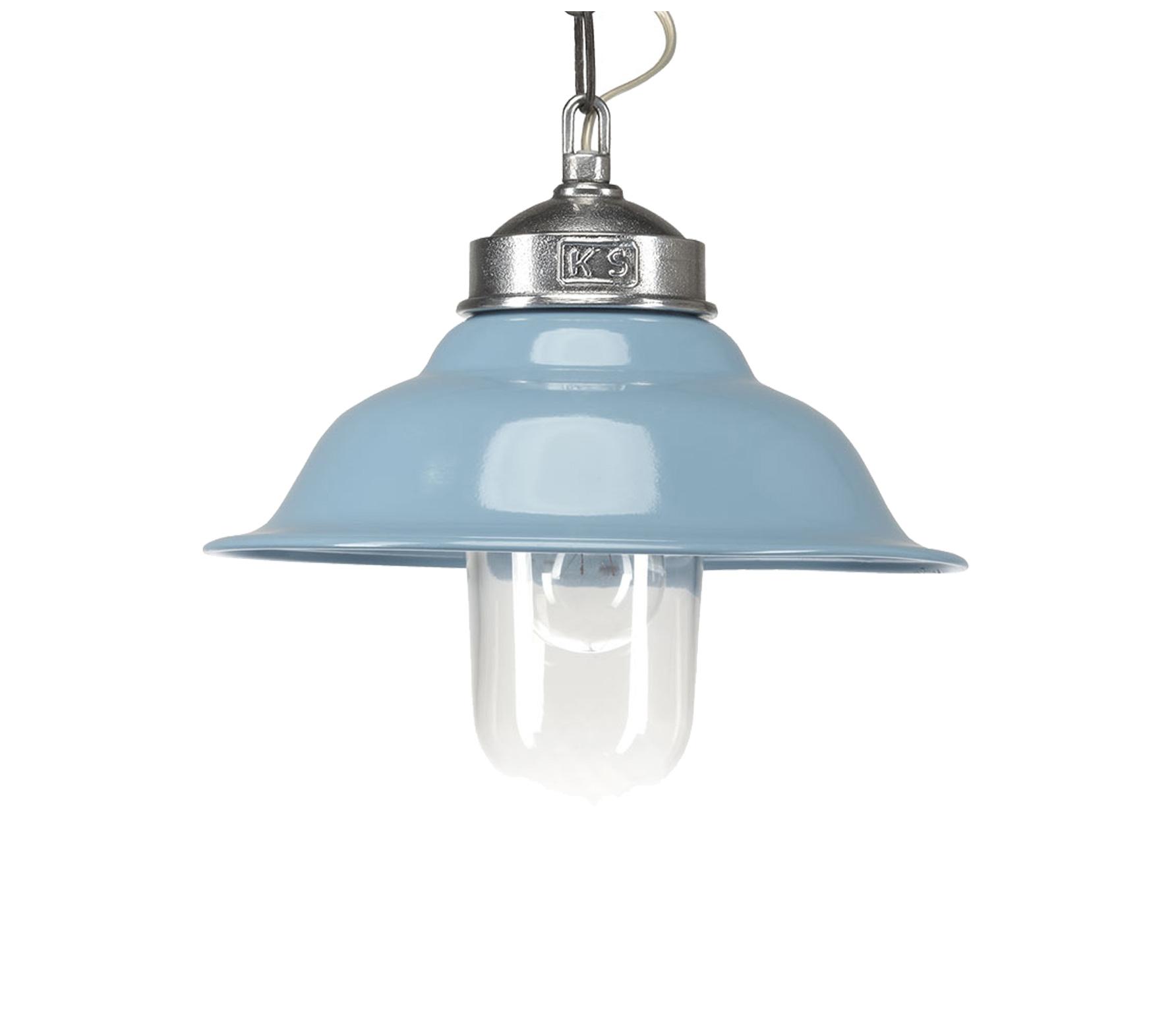 Porto Fino Retro hanglamp � 30�cm aluminium blauw Blauw