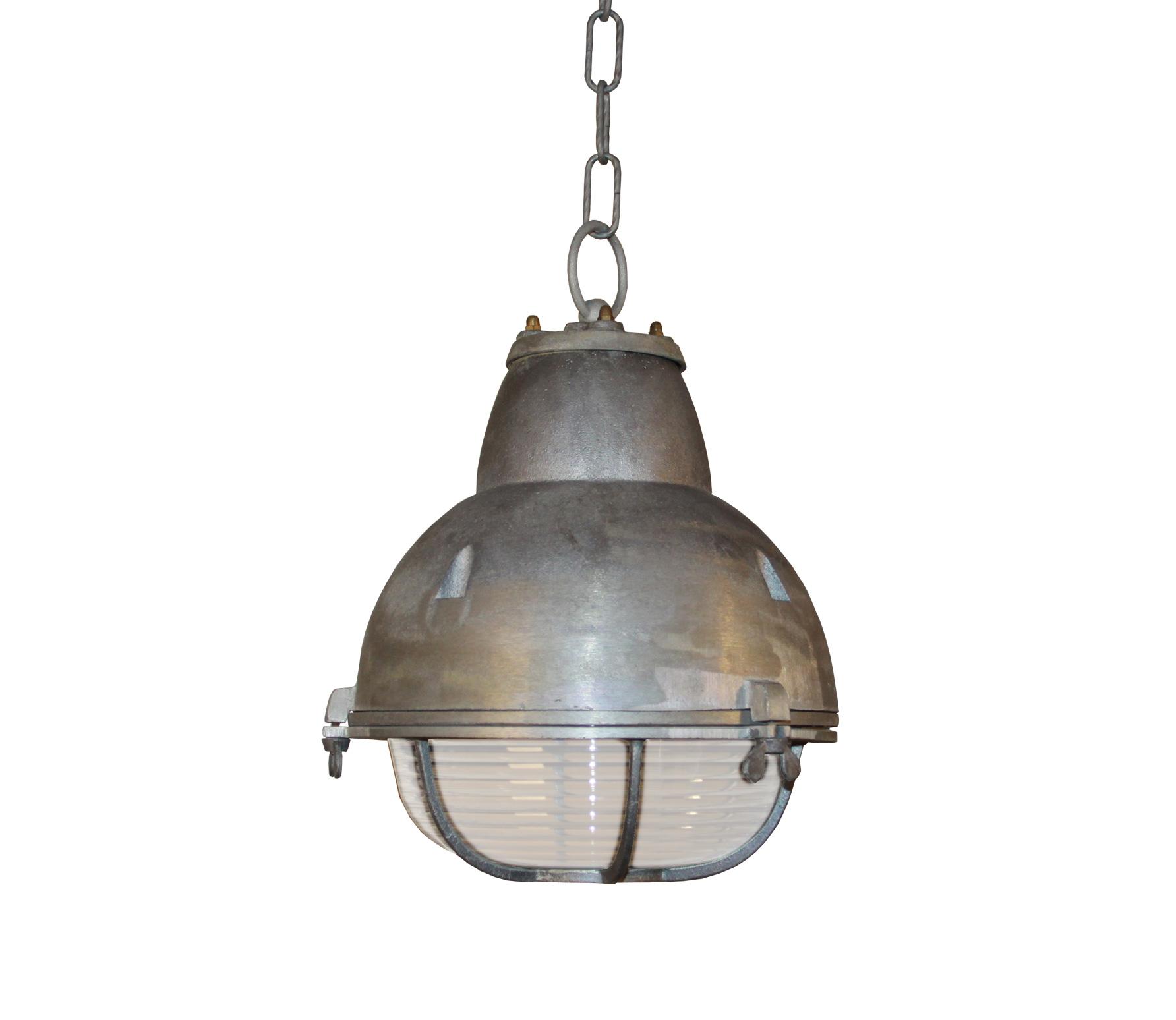 Hanglamp Navigator � 25 cm vintage Zilvergrijs
