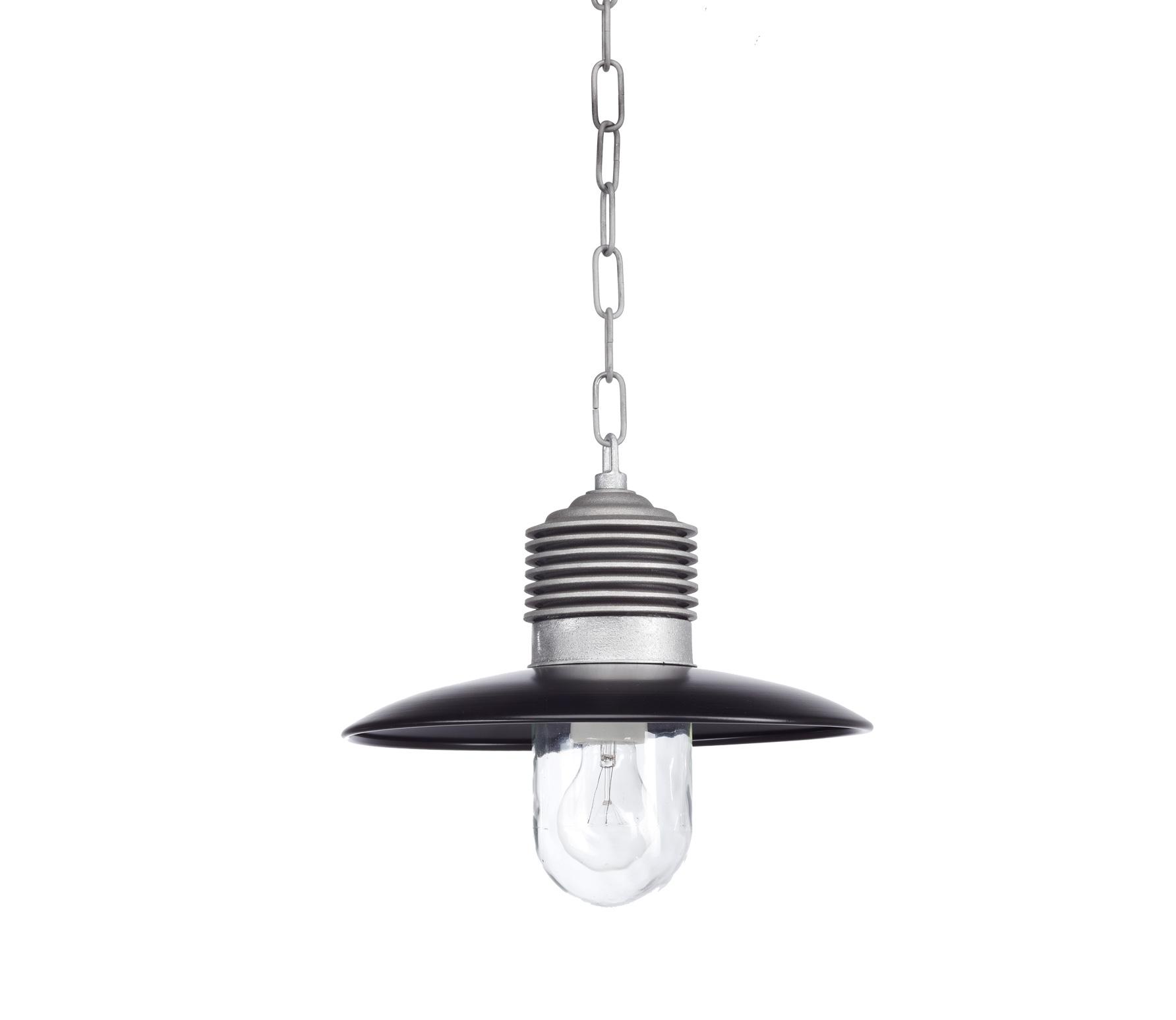 Amp�re hanglamp � 31 cm�aluminium zwart Onbehandeld/zwart