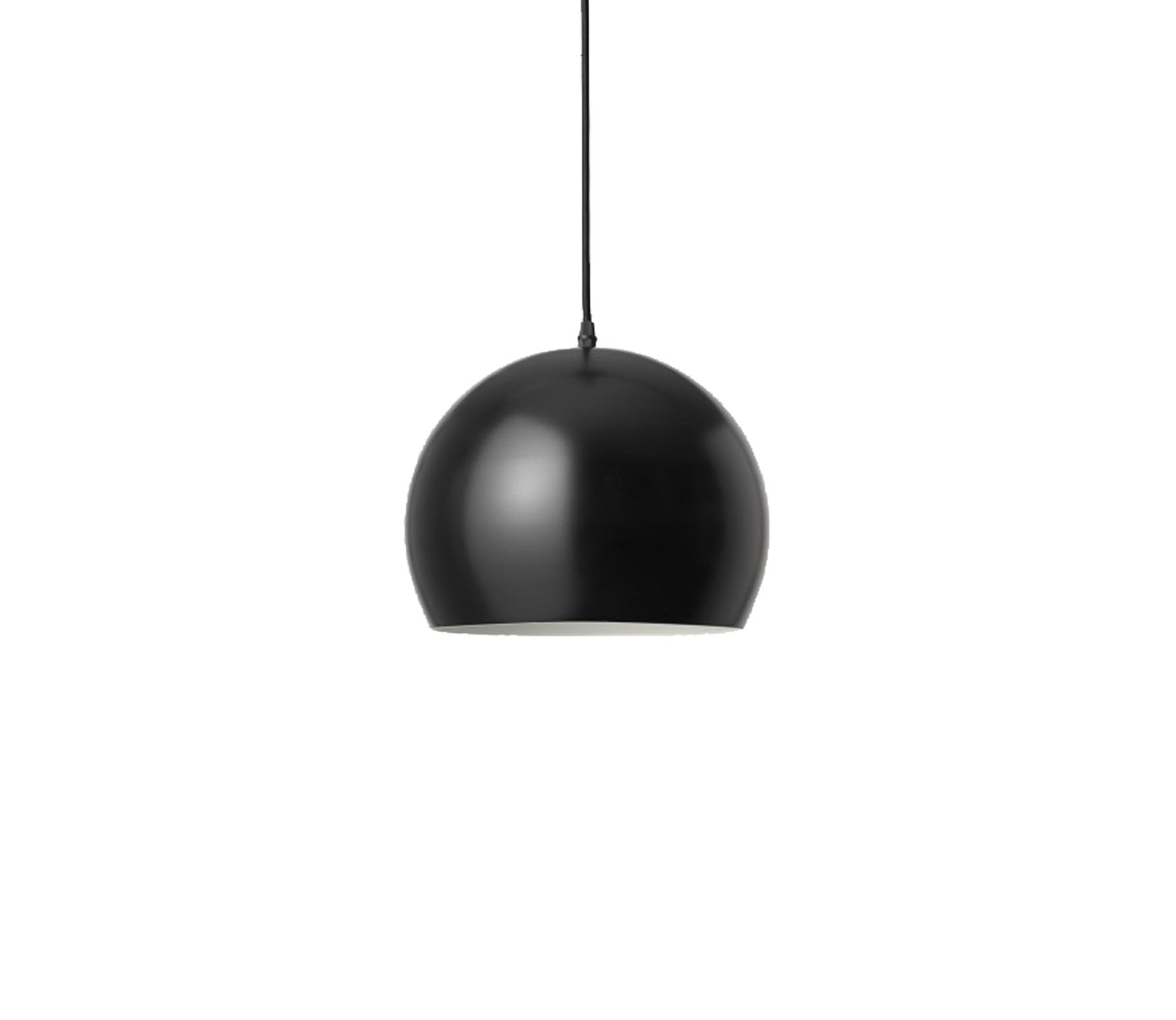 vtwonen Dot hanglamp � 27 cm zwart Mat zwart