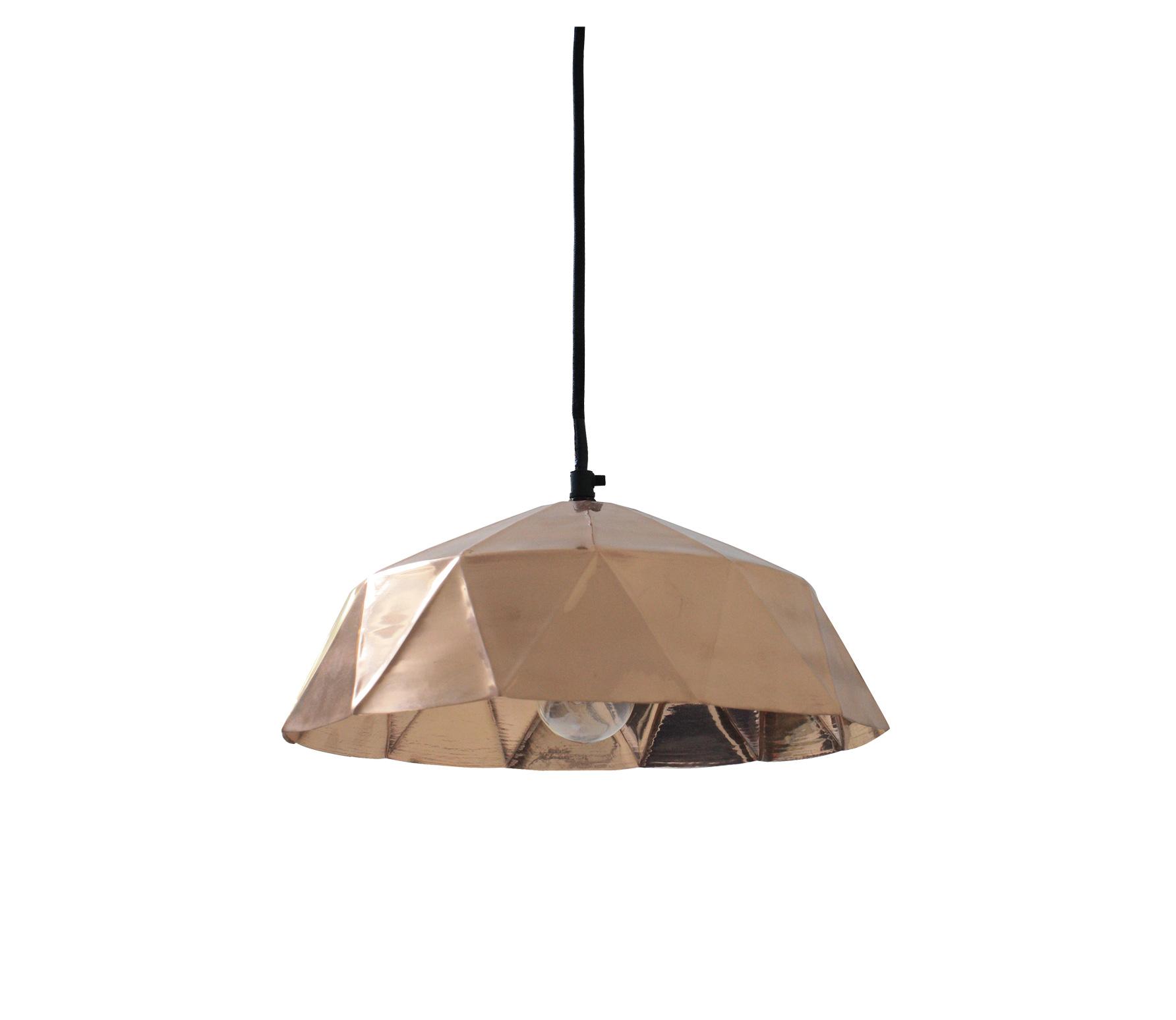 HK-living Copper Diamond hanglamp � 32 cm Koper