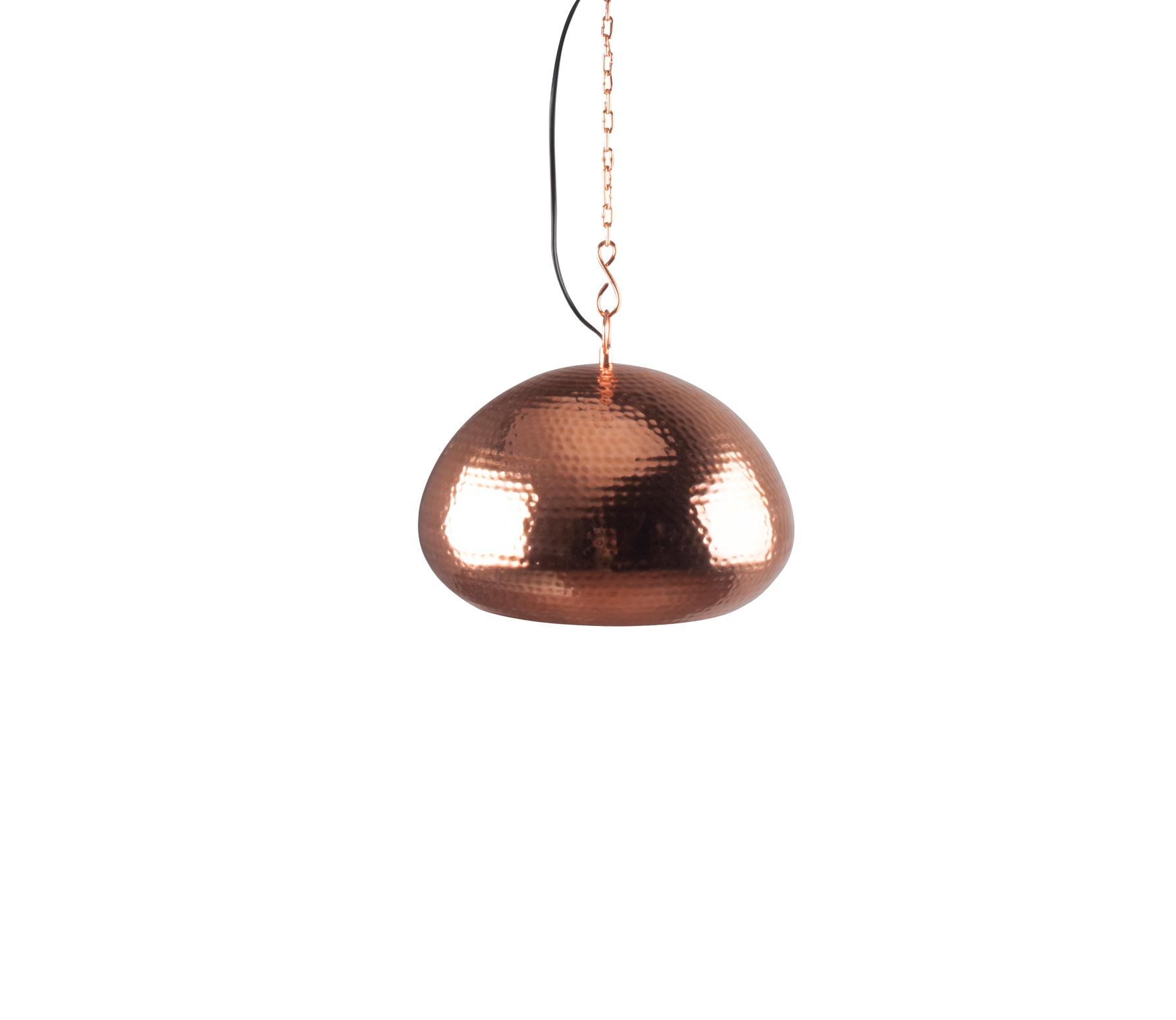 Zuiver Hammered Oval � 32 cm copper Koper