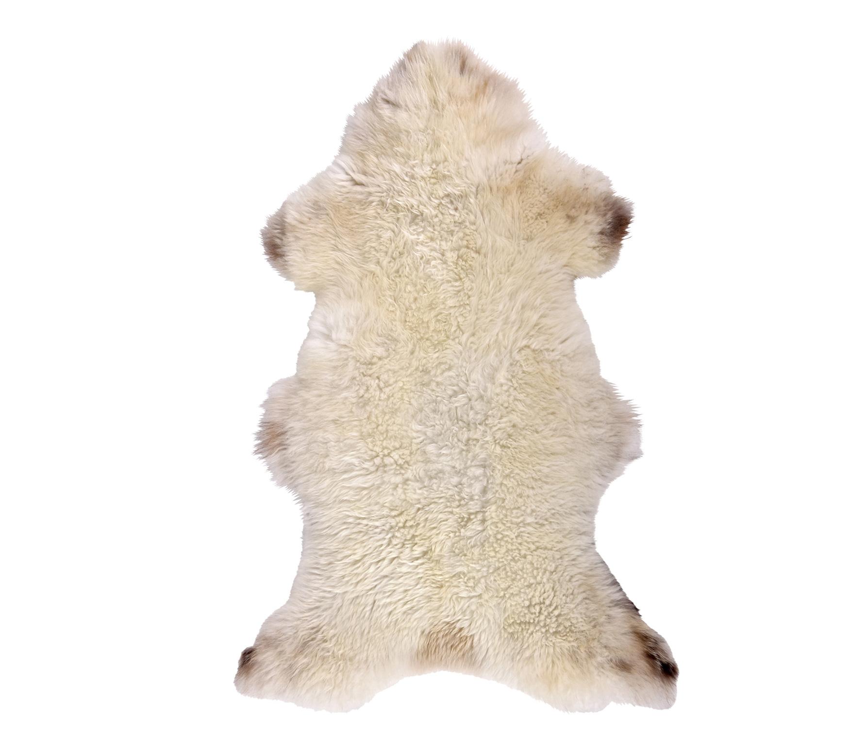BePureHome Schapenvacht 100x70 cm wit