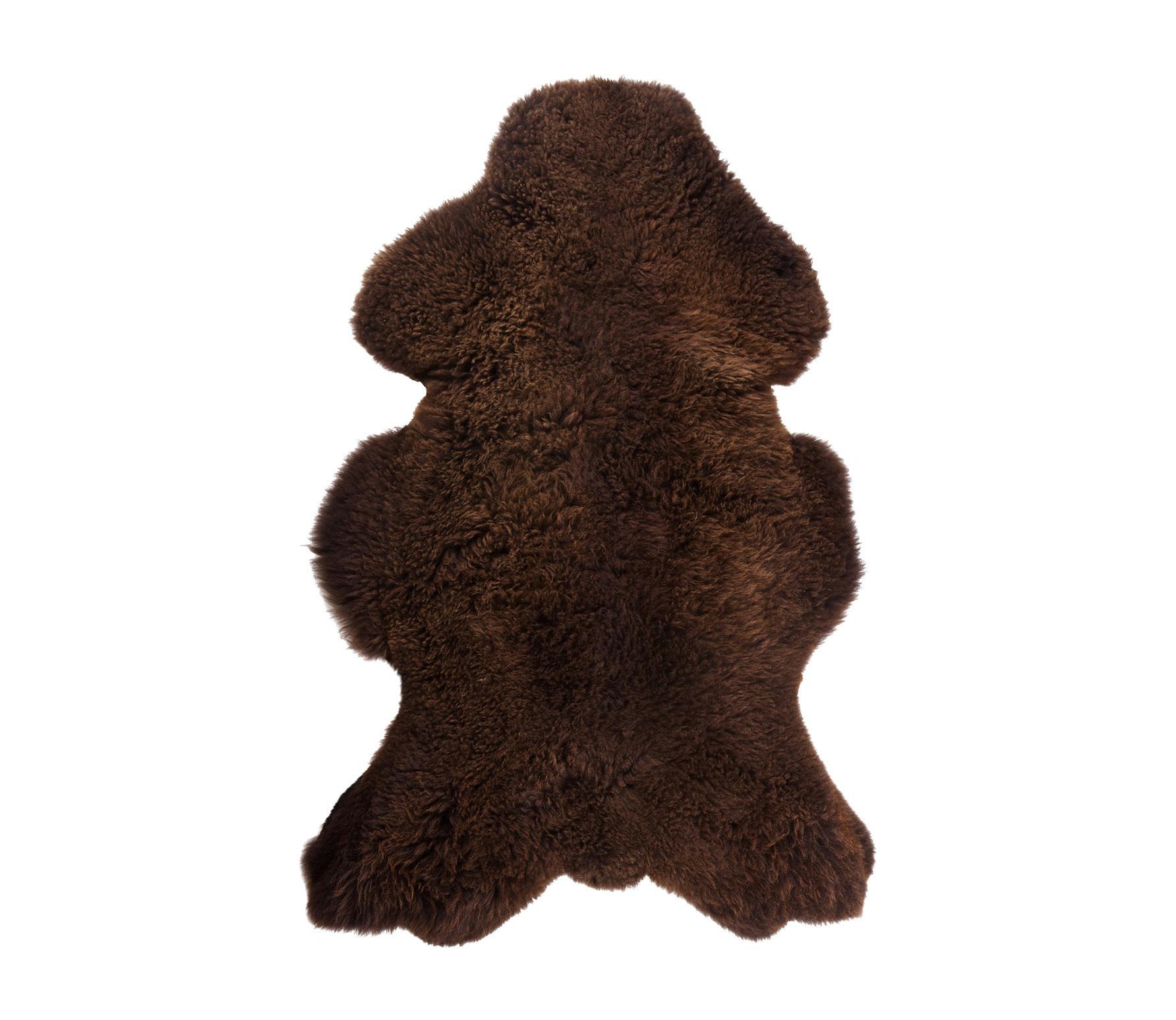 WOOOD Schapenvacht 100x60 cm bruin
