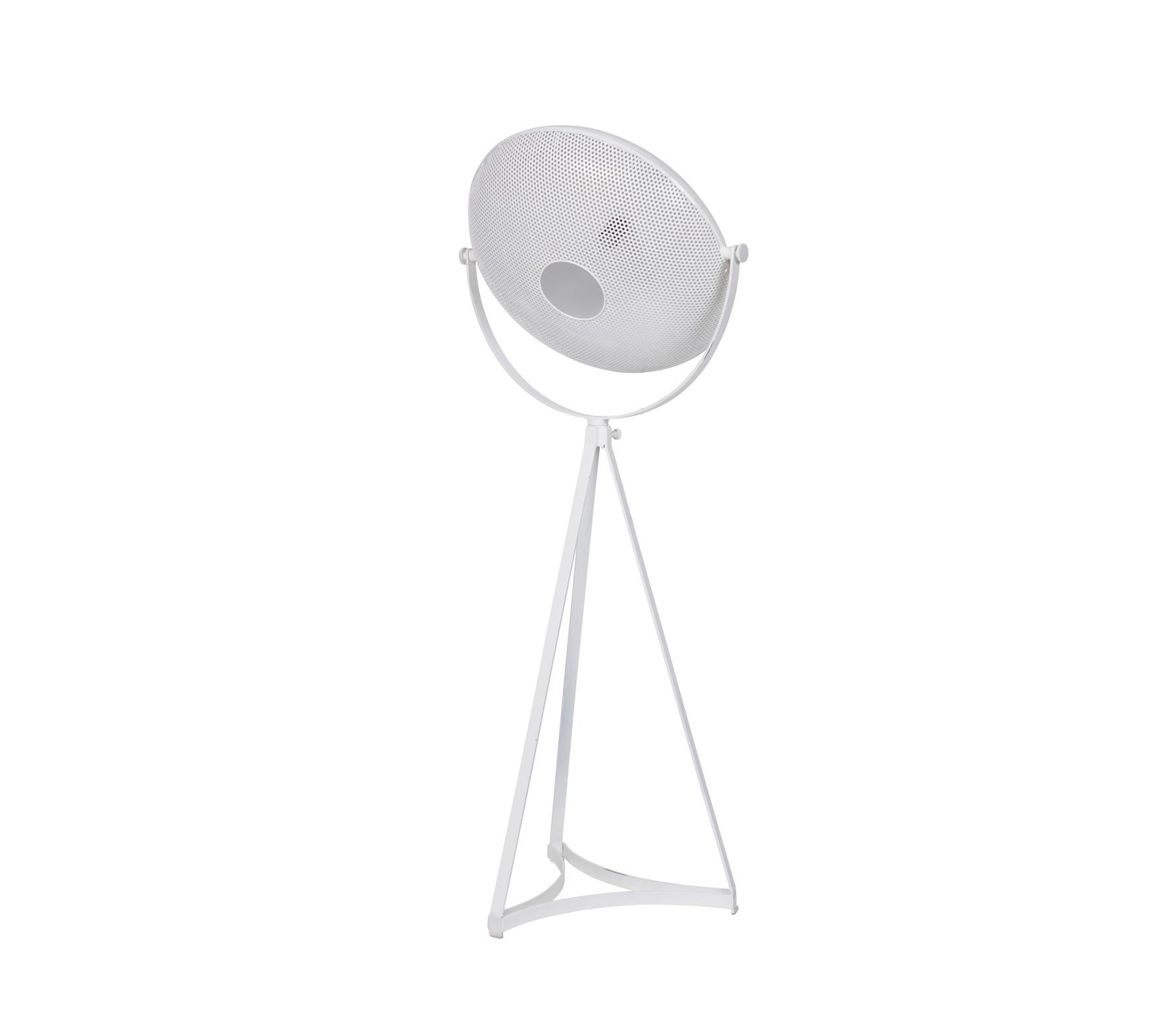 BePureHome Blown vloerlamp wit metaal Wit
