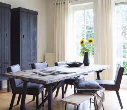 Afbeelding van product: BePureHome Craft eettafel div. afmetingen grenen zwart gelakt Grenen gevlekt 220x90 cm