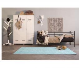 Afbeelding van product: vtwonen lockerkast 3-deurs 186x123x40 cm grenen wit