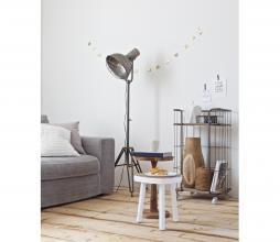 Afbeelding van product: BePureHome Giro trolley/bakkerskar 89x48x38 cm vintage metaal grijs