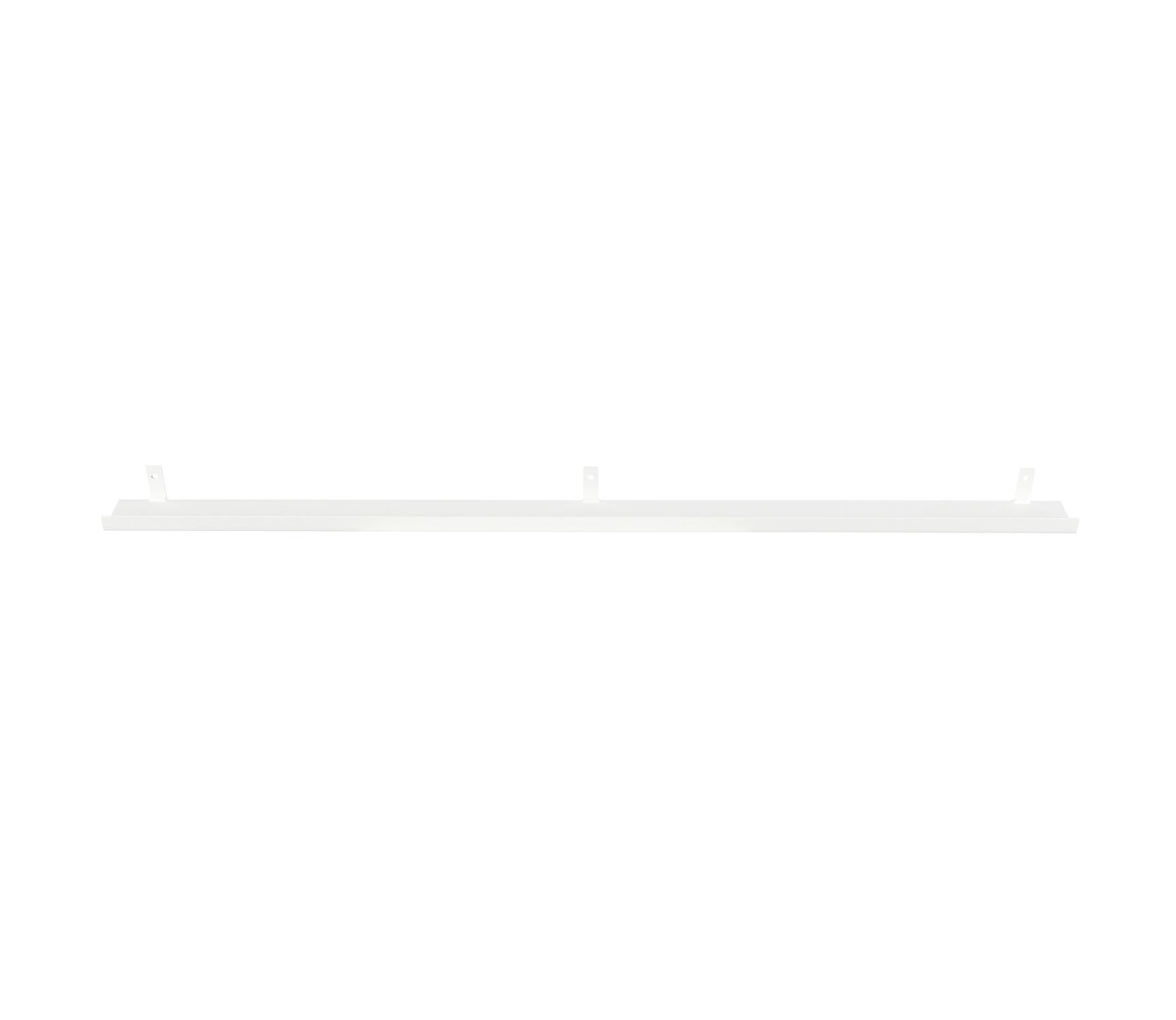 Vtwonen Wandplank.Vtwonen Wandplank Metaal 120 Cm Wit