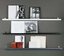 Afbeelding van product: vtwonen Wandplank zwart metaal 120 cm Zwart