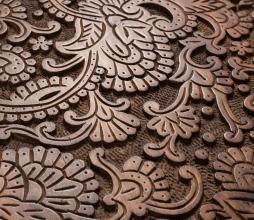 Afbeelding van product: Dutchbone By Hand bijzettafel  Ø 35 X H 37 cm hardhout bruin