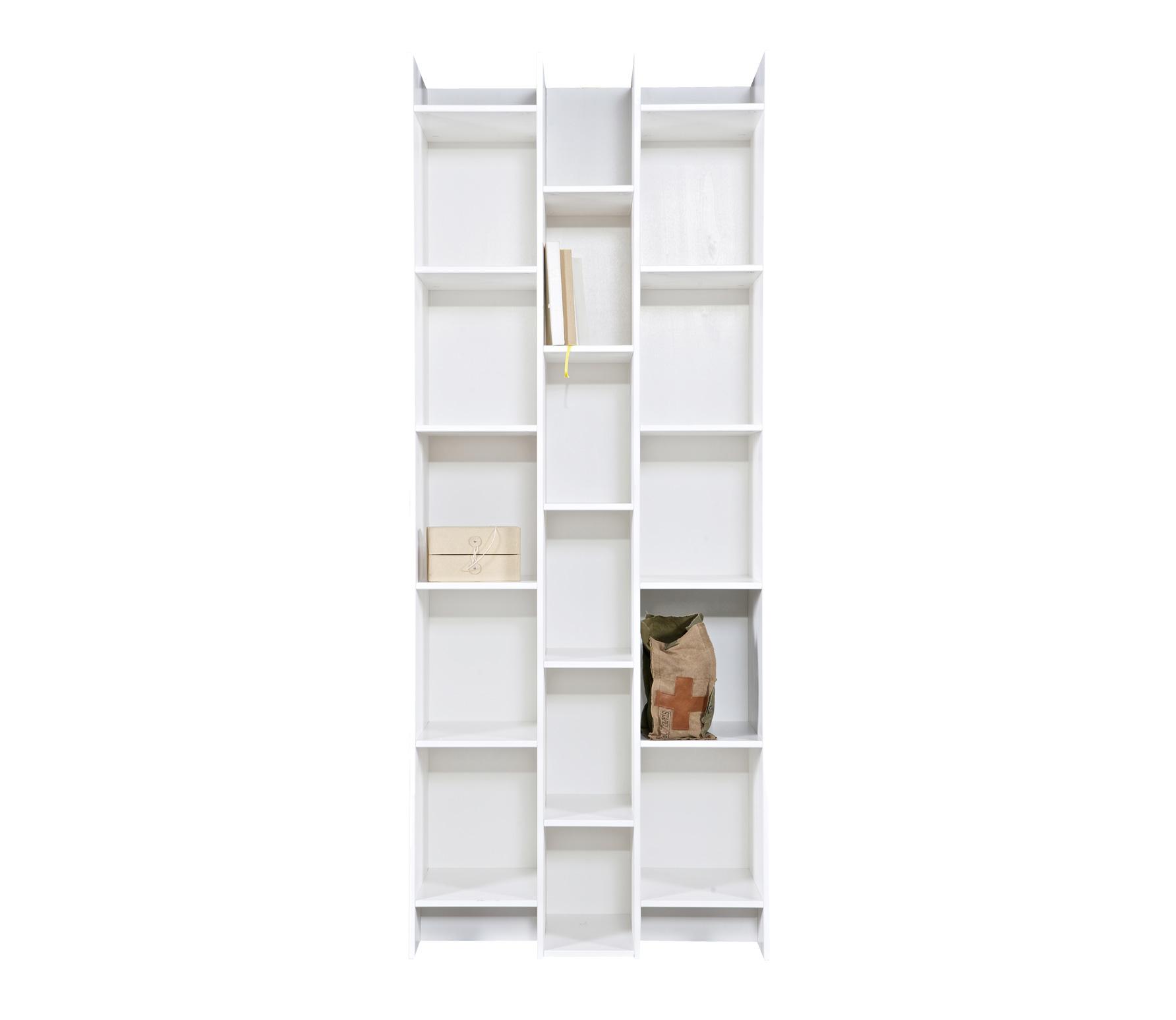 Wit Houten Boekenkastje.Woood Expand Boekenkast Vakkenkast 200x80x35 Cm Grenen Wit Standaard