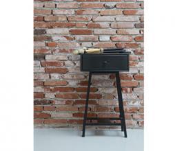 Afbeelding van product: BePureHome Skybox vintage sidetable mangohout zwart