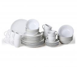 Afbeelding van product: vtwonen serviesset 36-delig porselein wit