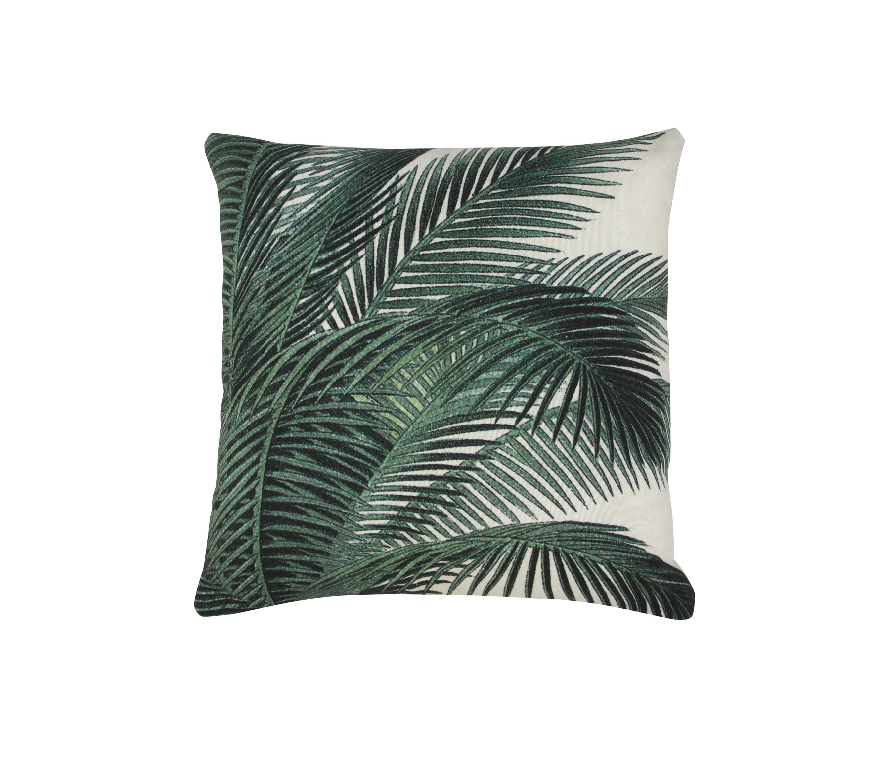 HKLiving Palm bladeren kussen