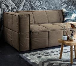 Afbeelding van product: HKLiving Palmblad kussen 45x45 cm katoen groen