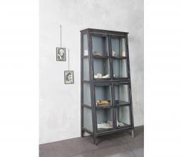 Afbeelding van product: BePureHome Herritage vitrinekast 173x79x46 cm hout zwart