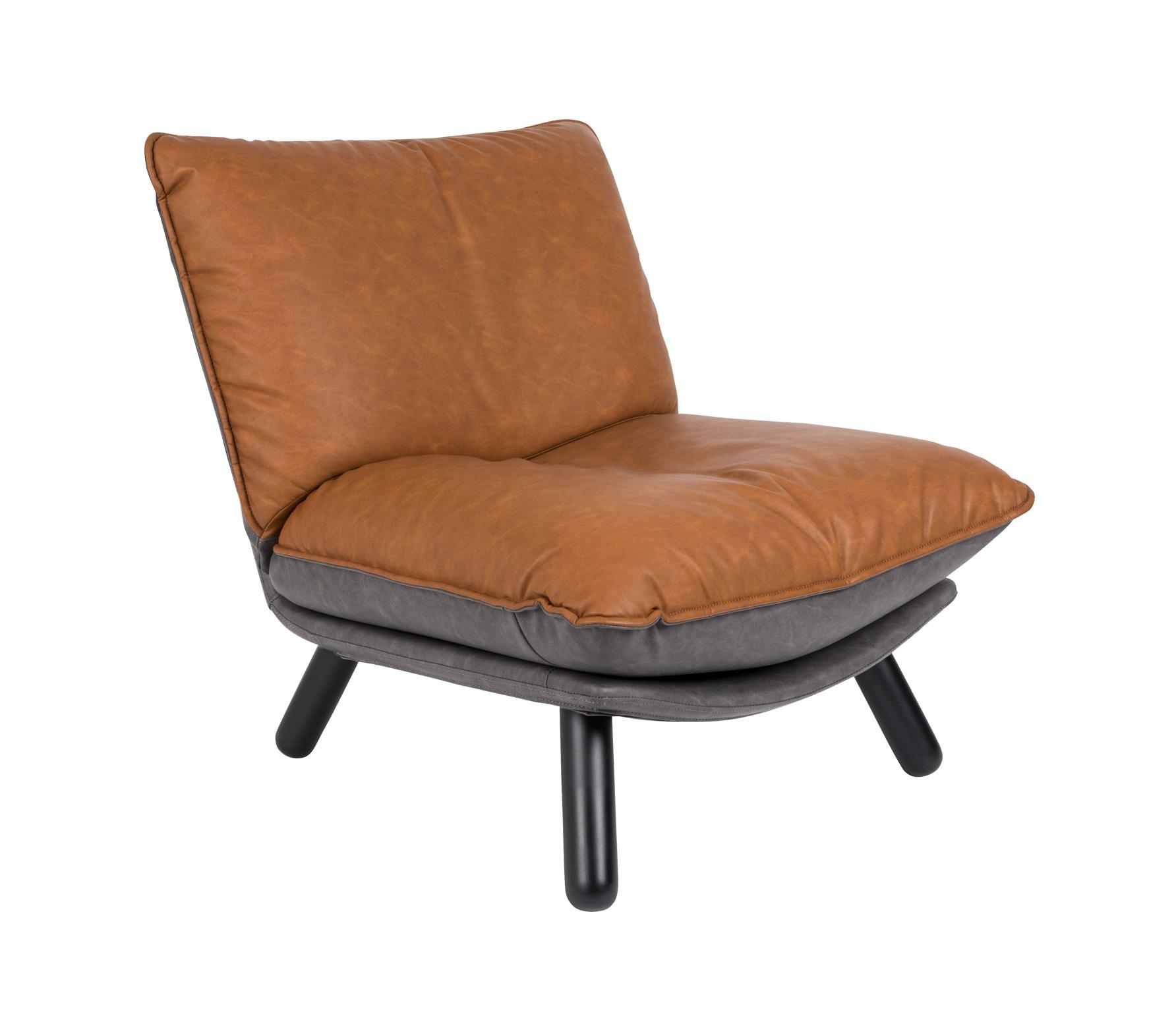 Zuiver lounge fauteuil Lazy Sack schuin vrijstaand