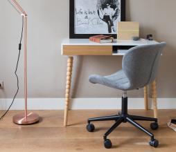 Afbeelding van product: Zuiver OMG bureaustoel polyester grijs