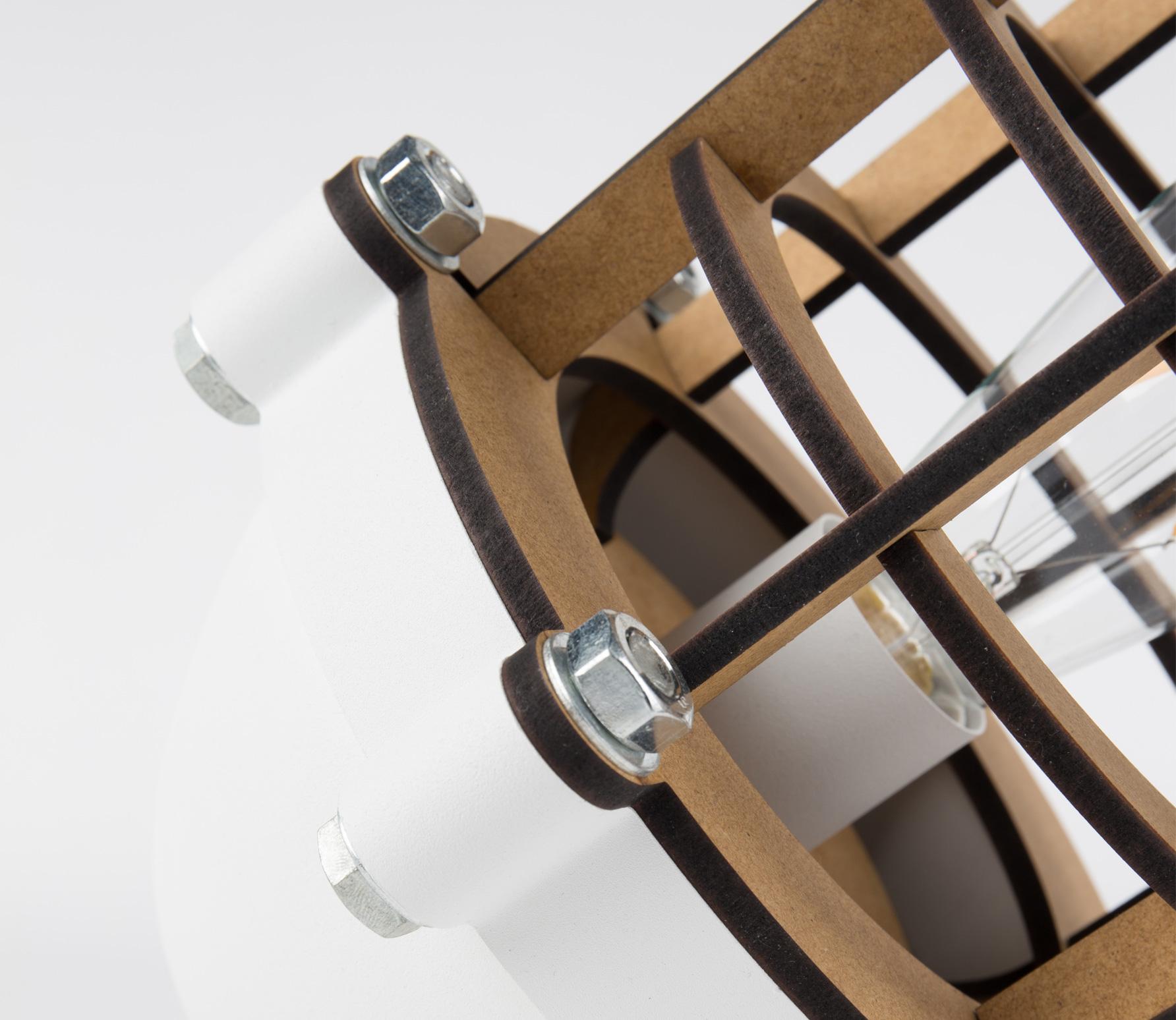 Zuiver Navigator tafellamp wit detail 2