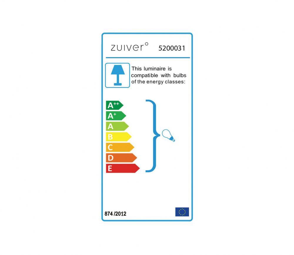 Zuiver Navigator tafellamp wit energielabel