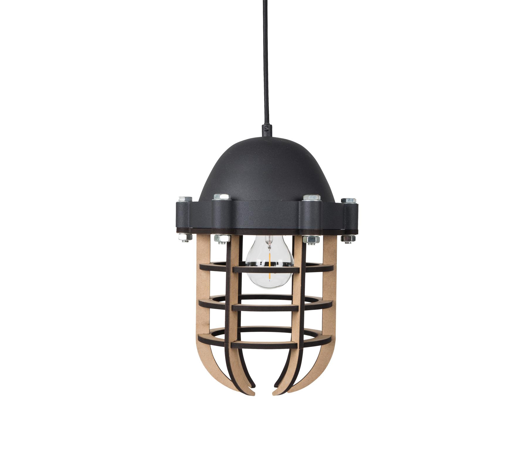 Zuiver Navigator hanglamp zwart vrijstaand