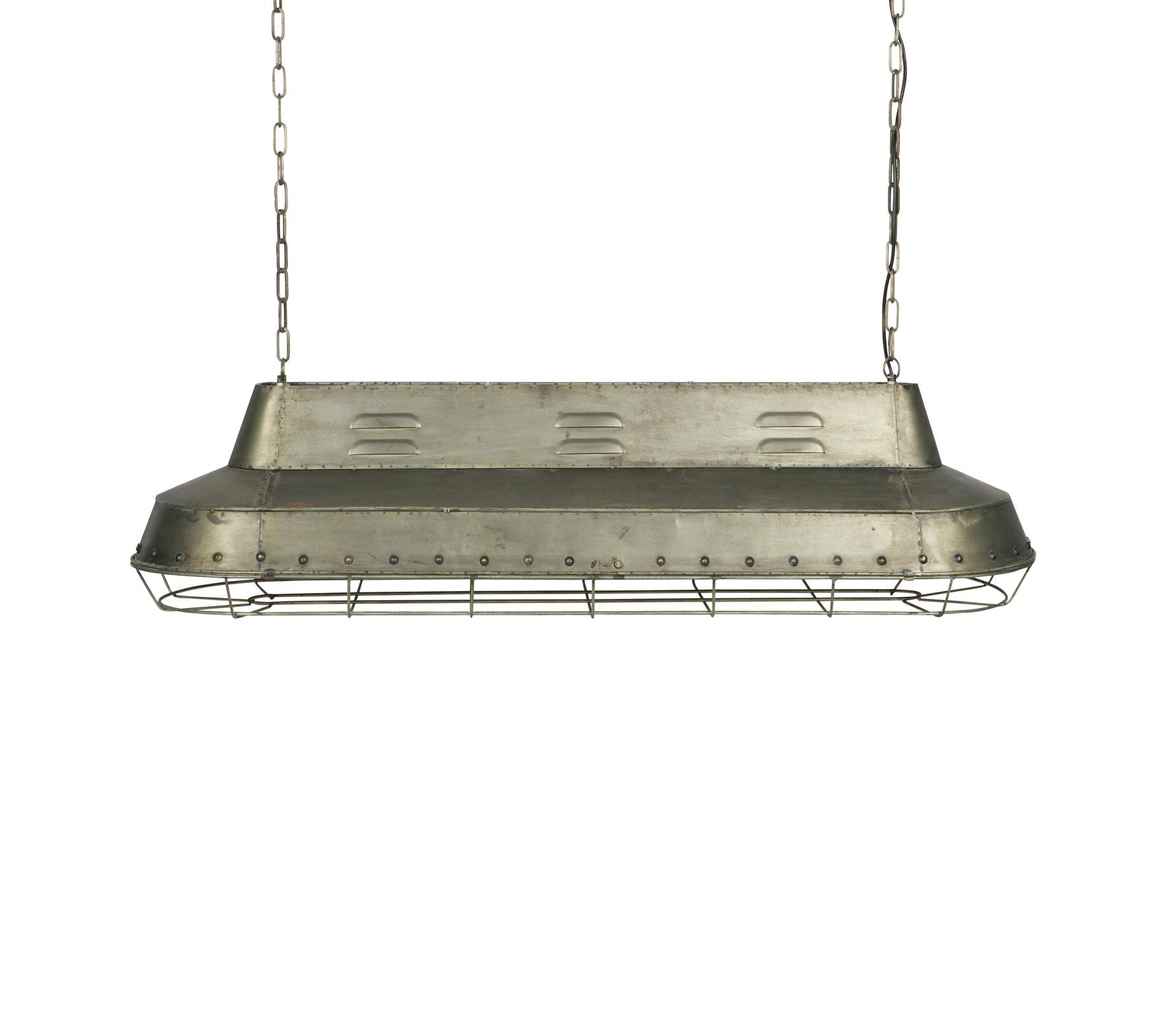 BePureHome Spotlight hanglamp vintage grijs metaal