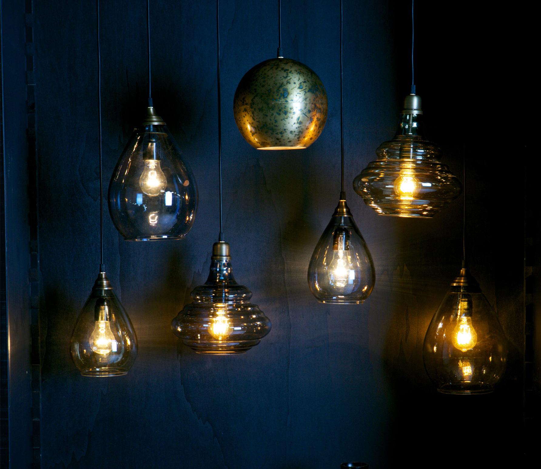 BePureHome Simple hanglamp medium antique brass sfeerbeeld 2