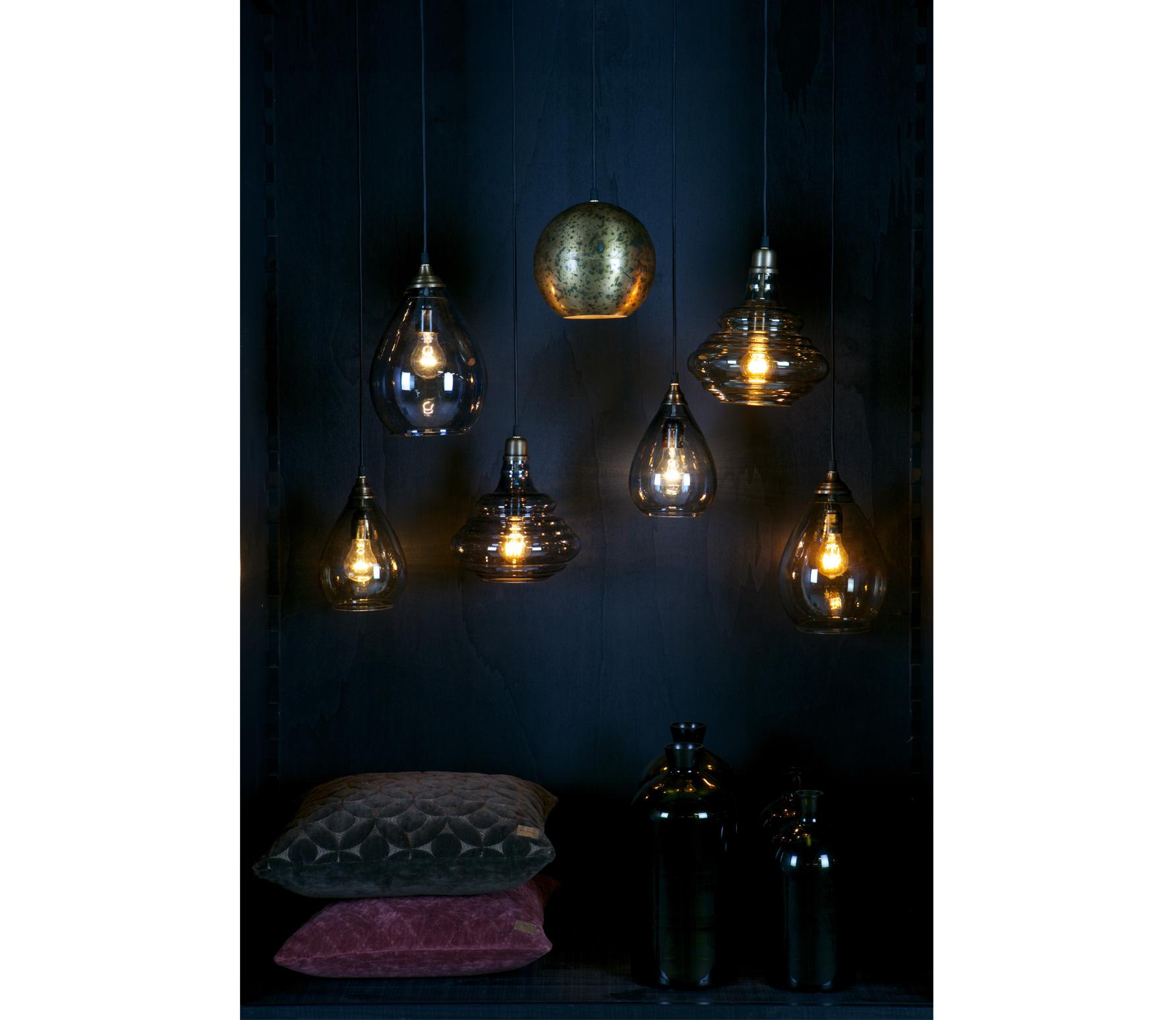BePureHome Simple hanglamp medium antique brass sfeerbeeld 3