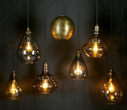 Afbeelding van product: BePureHome Pure vintage hanglamp Ø25 cm glas brass