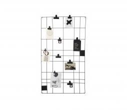 Afbeelding van product: vtwonen memobord 60 x 105 cm metaaldraad zwart