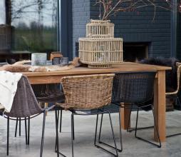 Afbeelding van product: BePureHome Spun (binnen-buiten) stoel polyester rotan zwart