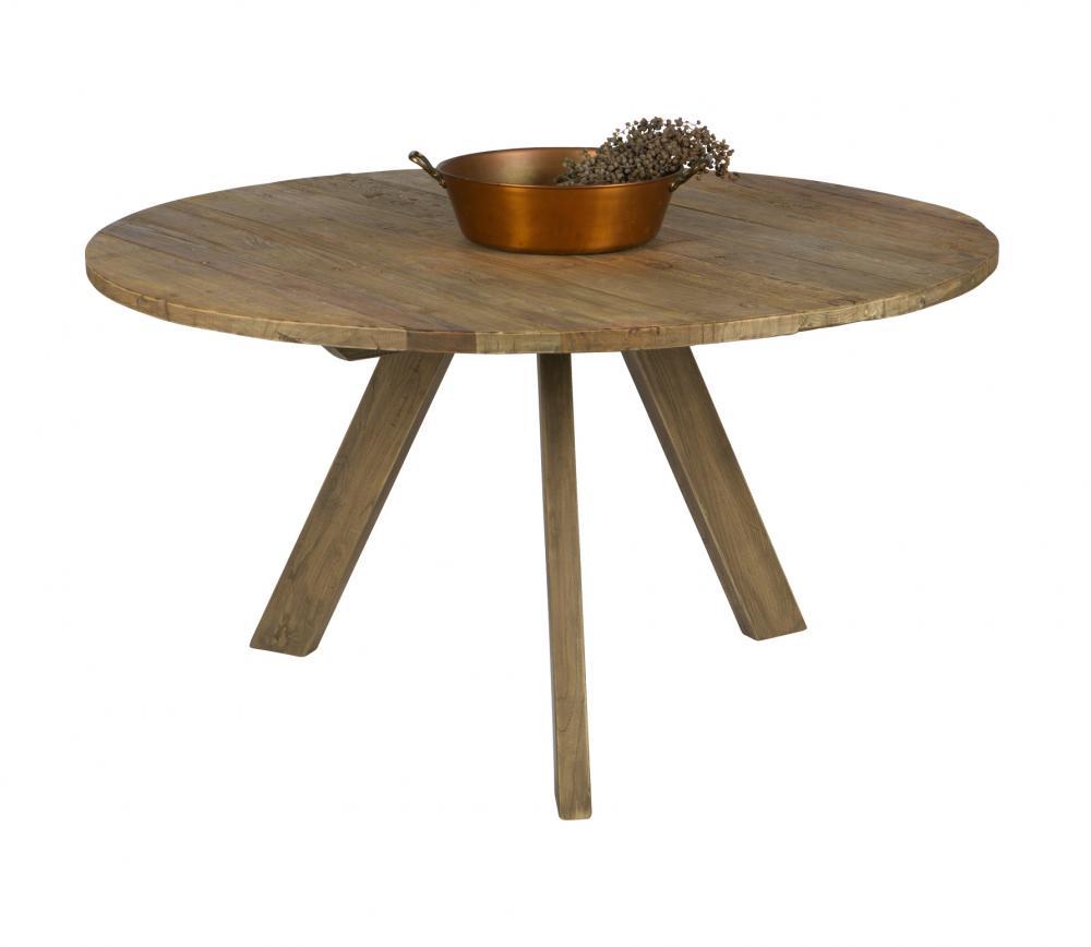 BePureHome Tondo eettafel oud hout VS 02