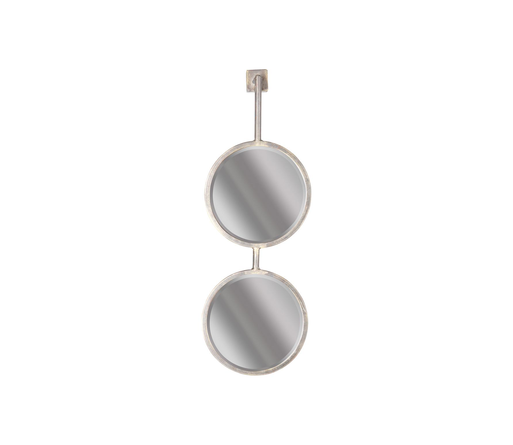 BePureHome Chain dubbele spiegel M antique zwart vrijstaand