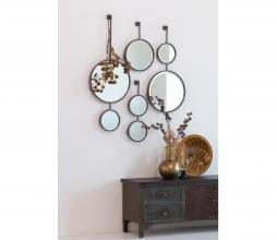Afbeelding van product: BePureHome Chain dubbele spiegel M metaal antique zwart