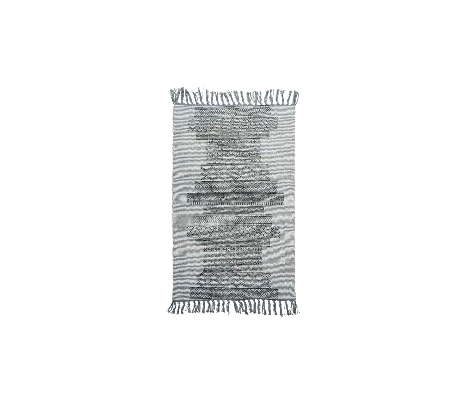 Housedoctor Karma vloerkleed grijs 60 x 90 cm vrijstaand