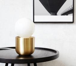 Afbeelding van product: House Doctor Gleam tafellamp metaal brass